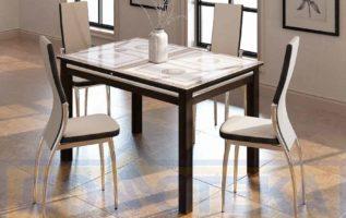 Как правильно подобрать столы и стулья на кухню